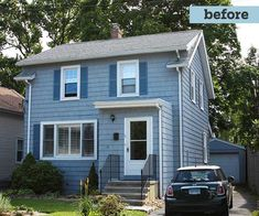 Before the Redo | Photoshop Redo: Cottage Style for a Boxy Cape | This Old House Mobile