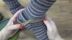 Kurz pletení ponožek - nad patou k patentu díl) Knitting socks Drops Design, Knitting Socks, Fingerless Gloves, Arm Warmers, Crochet, Youtube, Women, Macrame, Tricot