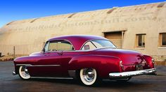 1951 Chevy Deluxe restored it, 305 cu. in. drive train