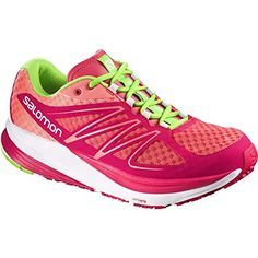 buy popular d0e9d c70b6 Salomon Women s Sense Pulse W Running Shoe, Papaya-B Lotus Pink Granny  Green, B US     Read more at the image link.