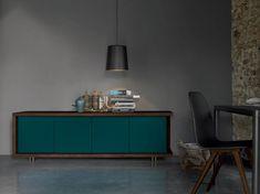 Descarregue o catálogo e solicite preços de Frame | buffet By dall'agnese, buffet de carvalho com portas design DOS Design, Coleção frame