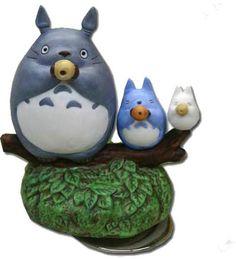 Three Totoro with Ocarina Music Box — Ghibli Orgel Collection $45.00…