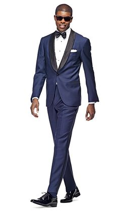 TBL: Again, i really like the navy tux as it is not quite your black tux but this will remain timeless..