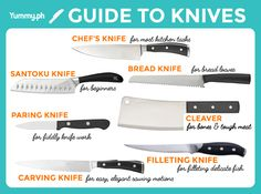 The Yummy.ph Guide to Knives