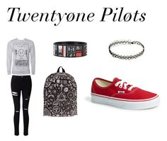 """Twentyøne pilots"" by carleelingard ❤ liked on Polyvore featuring Miss Selfridge and Vans"