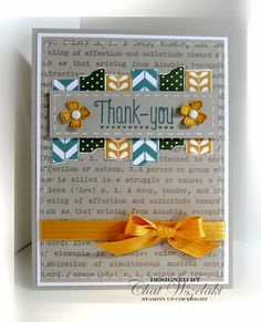 Tape It, Another Thank You, Stampin' Up,  Me, My Stamps and I