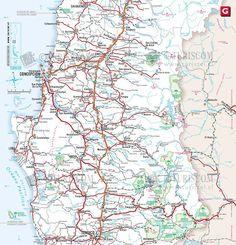 MapasBlog: Mapa do Chile – Região 8 - Bio Bio