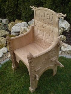Viking Chair - Dagfari hrut