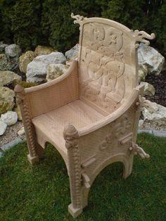 Viking Chair  - Dagfari hrut