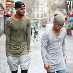 Restock of the Oversized long sleeve and tee . Colors : Grey/Kaki now @champaris75 very limited #champaris