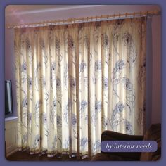 Beautifully serene curtains by Interior Needs, using our Pietra fabric in colourway Lavender Prestigious Textiles, Serenity, Upholstery, Lavender, Curtains, Interior, Projects, Fabric, Home Decor