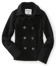 Wool Peacoat - Aeropostale wouldn't even need to be this one! just want a black peacoat