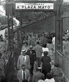 Subway entrance to Plaza de Mayo. Military Dictatorship, Pope Francis, The Beatles, South America, Rio, World, Bs As, Google, Buenos Aires