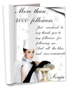 """""""Thank you followers"""" by fashion-and-beauty-miracles ❤ liked on Polyvore featuring moda"""