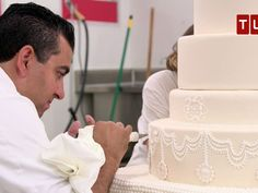 """Check out a new clip from the upcoming episode of the TLC show """"Cake Boss."""" In the episode, Buddy Valastro's employee Nikki is getting hitched, so he is tasked with making an eight-tier cake for her. Watch! The finale of """"Cake Boss"""" premieres on Tuesday…"""