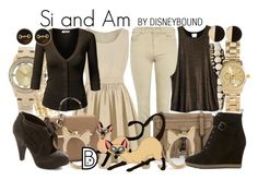 """""""Si and Am"""" by leslieakay ❤ liked on Polyvore featuring Chan Luu, River Island, J.TOMSON, Forever 21, Ettika, H&M, Armani Jeans, RVCA, Rebecca Minkoff and Mint Velvet"""