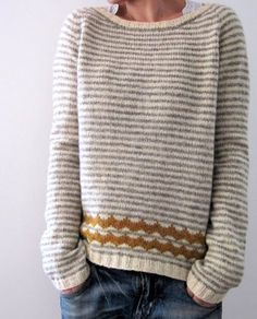 Like the scallop detail Pullover ist anders. Look Fashion, Autumn Fashion, Plus Size Pullover, Casual Sweaters, Women's Sweaters, Cardigans, Vogue Knitting, Mode Outfits, Mode Inspiration