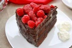 """Me Encanta el Chocolate: RECETA: """"Pastel de chocolate con frambuesa"""""""