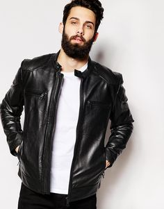 ASOS+Leather+Jacket