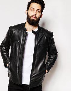 ASOS+Leather+Jacket