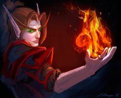 World of Warcraft: Legion | Blood Knight by AppleSin