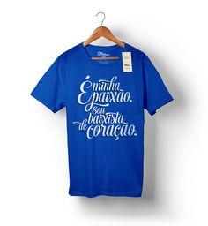 Camiseta para baixista!  http://www.toquemaisbaixostore.com.br/camiseta-eminhapaixao-azulroyal