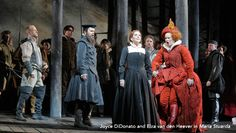 "Maria Stuarda: ""Figlia impura di Bolena"" (DiDonato, van den Heever) - The Metropolitan Opera - Watch and Listen"