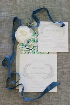Spring garden wedding invitation: http://www.stylemepretty.com/2014/10/22/spring-garden-wedding-full-of-romance/ | Photography: Heather Hawkins Photography - http://www.heatherhawkinsphoto.com/