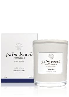 Palm Beach Indigo Love Candle