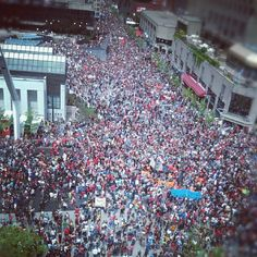 Manif today in Montreal! buy me a plane ticket somebody!