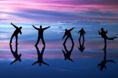 ボリビアのウユニ塩湖 極上の美しさをたたえた塩の平原【画像集】