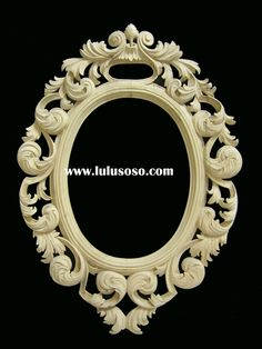 Wood carving frame