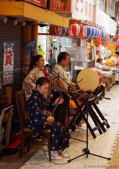 Things to do in okinawa: Watch a street band performing traditional music