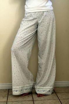 wide leg pajama pants amy butler