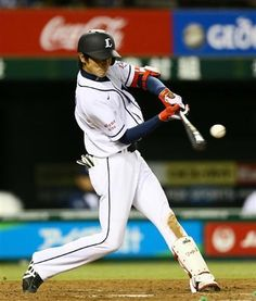 Yuuji Kaneko had a monster day at the plate in Wednesday's 6-2 win over Hawks, going 2-for-3 with a homer, triple, 1 run scored and 5 RBIs at Seibu Dome on Wednesday, April 3, 2013.