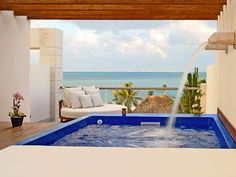 Excellence Playa Mujeres - Cancun.  GREAT option for a honeymoon!!  For more information: ASPEN CREEK TRAVEL - karen@aspencreektravel.com