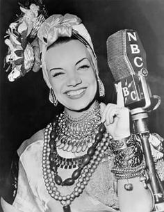 <3  Happy Birthday Carmen Miranda! (February 9, 1909 - August 5, 1955) The beautiful Portuguese-Brazilian Samba singer, dancer and actress for NBC Radio, 1939