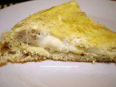 En Argentina es muy conocida esta receta de Queso Mantecoso | Tortilla de atún rellena de queso fresco