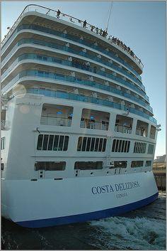 Costa Deliziosa #CruiseShip image Cruise Vacation, Vacations, Cruise Ships, Romantic Getaways, Costa, Image, Holidays, Vacation