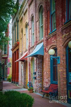 Paducah, Kentucky | City Street by Warrena J Barnerd