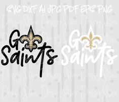 New Orleans Saints SVG File | Louisiana | New orleans ...