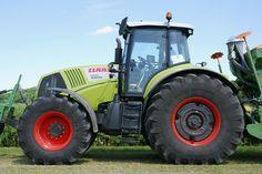 Claas Axion 850 na polu - Wikimedia Commons, Repair Manuals, Vehicles, Workshop, Free, Four Wheelers, Tractor, Good Job, Atelier