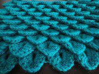 Crocodile Stitch; free tutorial by Yarn Muse