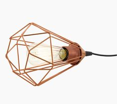 This is a one light table lamp from the Tarbes range by Eglo. The 94197 is a vintage copper table lamp. Industrial Light Fittings, Industrial Wall Lights, Industrial Style Lighting, Pendant Lighting, Copper Table Lamp, Lamp Table, Direct Lighting, Thing 1, One Light