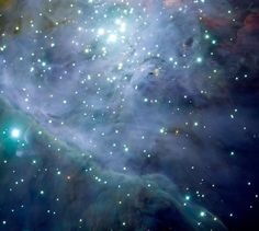 The Orion Nebula: The Jewel in the Sword - La Nebulosa di Orione: il Gioiello della Spada   (Credit: ESO/M.McCaughrean et al. (AIP))