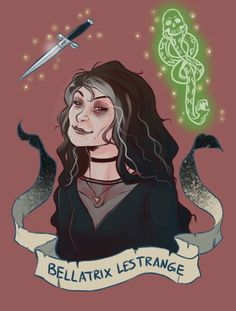 Bellatrix Lestrange by: Brenna-Ivy