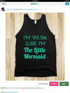 Little mermaid shirt <3