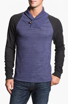 Alternative 'Oliver' Shawl Collar Sweatshirt available at Nordstrom