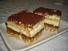 Dorothy Sweet: Prajitura deliciu Nutella, Tiramisu, Biscuit, Cheesecake, Gluten Free, Cookies, Ethnic Recipes, Sweet, Food