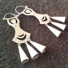 Jewelry Art, Women Jewelry, Tribal Necklace, Jewerly, Copper, Jewelry Making, Brooch, Earrings, Silver